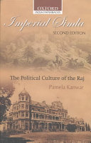 Imperial Simla Of The Social Historical And Political Development Of