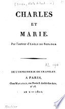Charles et Marie