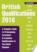 British Qualifications 2016