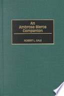 An Ambrose Bierce Companion In 1914 During His Lifetime He Was