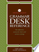 Writer s Digest Grammar Desk Reference