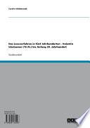 Das Leseverfahren in fünf Jahrhunderten - Valentin Ickelsamer (16 Jh.) bis Anfang 20. Jahrhundert