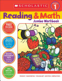 Reading   Math Jumbo Workbook  Grade 1