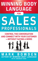 download ebook winning body language for sales professionals: control the conversation and connect with your customer—without saying a word pdf epub