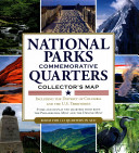 National Parks Commemorative Quarters Collector Map 2010 2021