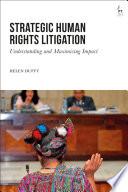 Strategic Human Rights Litigation