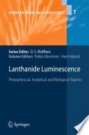 Lanthanide Luminescence