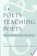 Poets Teaching Poets