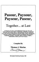 Pasour, Paysour, Payseur, Paseur, Together at Last