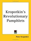 Kropotkin s Revolutionary Pamphlets
