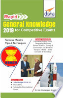 Disha s Rapid General Knowledge 2019 for Competitive Exams