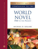 Book The Facts on File Companion to the World Novel