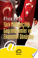 Türk Milliyetçiliği, Gayrimüslimler ve Ekonomik Dönüşüm
