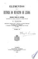 Elementos para a historia do municipio de Lisboa