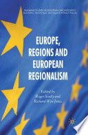 Europe Regions And European Regionalism