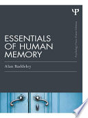 Essentials Of Human Memory Classic Edition