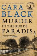 Murder in the Rue de Paradis Book