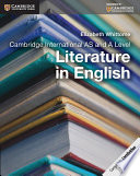 Cambridge International AS and A Level Literature in English Coursebook