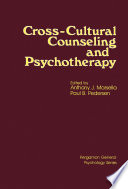 Cross Cultural Counseling and Psychotherapy