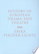 History Of European Drama And Theatre