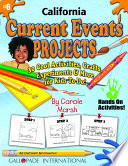 California Current Events Projects   30 Cool Activities  Crafts  Experiments   M
