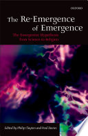 The Re Emergence of Emergence