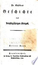 Fr  Schillers Geschichte des dreyssigj  hrigen Kriegs