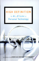 High Definition  An A to Z Guide to Personal Technology