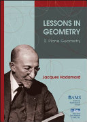 Lessons in Geometry: Plane geometry