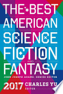 Book The Best American Science Fiction and Fantasy 2017