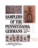 Samplers of the Pennsylvania Germans