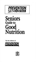 Seniors guide to good nutrition