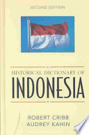 Historical Dictionary of Indonesia