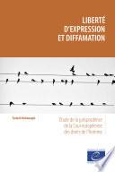 Libert D Expression Et Diffamation
