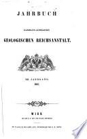 Jahrbuch Kaiserlich-Koniglichen Geologischen Reichsanstalt.VIII.Jahrgang 1857