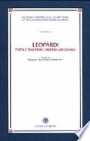Leopardi  Dichter und Denker