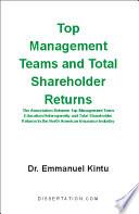 Top Management Teams and Total Shareholder Returns