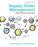 Supply Chain Management book
