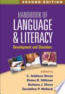 Handbook of Language and Literacy