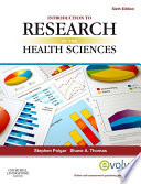 Introduction To Research In The Health Sciences E Book book