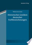 Historisches Lexikon deutscher Farbbezeichnungen