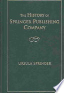 The History Of Springer Publishing Company book