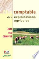 Plan comptable des exploitations agricoles