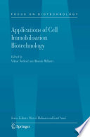 Applications Of Cell Immobilisation Biotechnology book