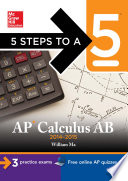 5 Steps to a 5 AP Calculus AB  2014 2015 Edition