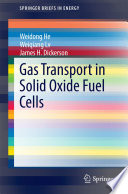 Gas Transport in Solid Oxide Fuel Cells