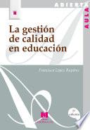 La gestión de calidad en educación Estrategico Educacion Y Sociedad Del Conocimiento La Educacion