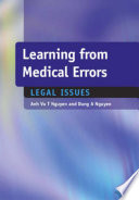 Learning From Medical Errors
