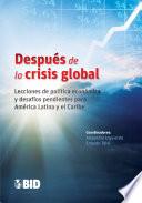 Después de la crisis global