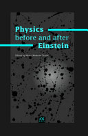 Physics Before and After Einstein